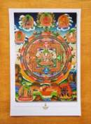 THANGKA POSTKARTE - Vajrasattvwa Mandala