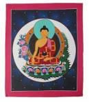 Thangka BUDDHA Shakyamuni Gautama - handgemalt - Nepal