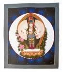 Thangka - 1000 armiger Avalokiteshvara Chenrezig - handgemalt - Nepal
