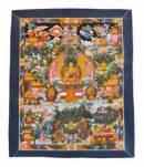 Thangka - Buddha`s Leben - Buddha Story - handgemalt - Nepal