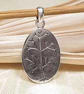 Anhänger Lebensbaum - Tree of Life - 925er SILBER - Nepal