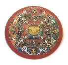 MAGNET PLATTE - Buddha - Mandala - NEPAL - TIBET