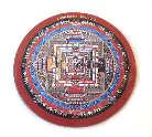 MAGNET PLATTE - Kalachakra Mandala - NEPAL - TIBET