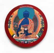 MAGNET PLATTE - Medizin Buddha - NEPAL - TIBET