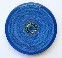 MAGNET PLATTE - Tantric Cosmos Mandala - NEPAL - TIBET