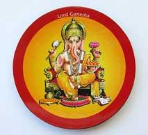 MAGNET PLATTE - Lord Ganesha - NEPAL - TIBET