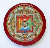 MAGNET PLATTE - Manjushree Mandala - NEPAL - TIBET