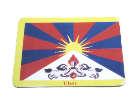 MAGNET PLATTE- Tibet Fahne - NEPAL - TIBET