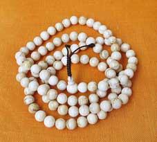 Gebetskette Naga Shell - Muschel Mala - Tibet - Nepal