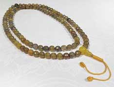 Onyx Mala - Diamantcut - Gebetskette - Nepal - Tibet