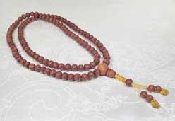 Raktu Mala - Bodhi - Gebetskette aus Samen - Nepal