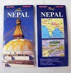 Nepal Landkarte / Pocket Map aus Kathmandu