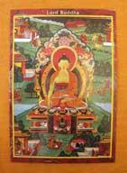 THANGKA POSTKARTE Lord Buddha
