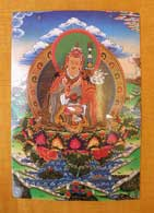 THANGKA POSTKARTE Guru Padma Sambhava #1