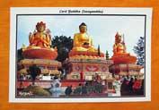 Lord Buddha Swayambhu - Postkarte aus Nepal