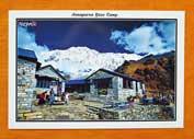 Annapurna Base Camp - Postkarte aus Nepal