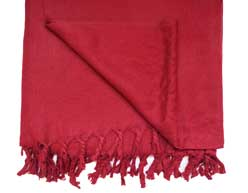 Meditations Schal aus Yakwolle - Wolldecke - Yoga Plaid - Dharamsala